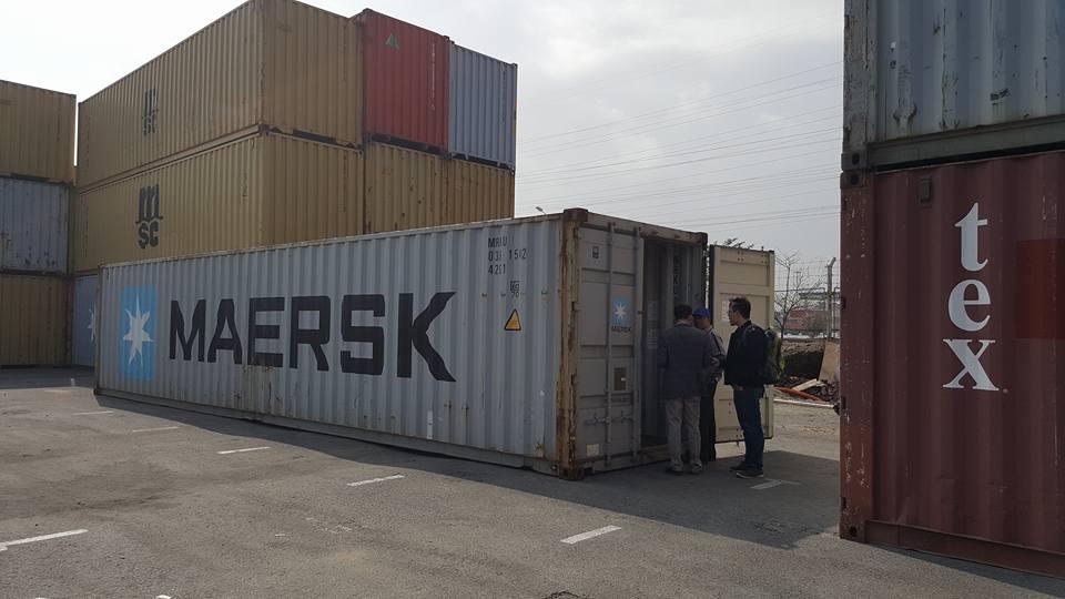 Xử lý hàng hóa xuất khẩu