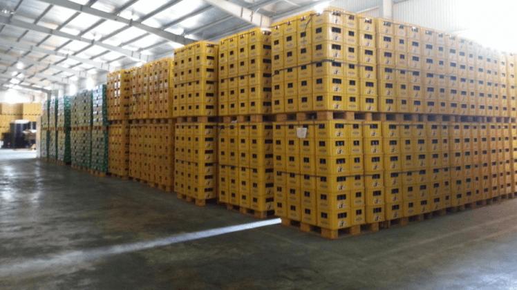Sàn kho của MLC logistics