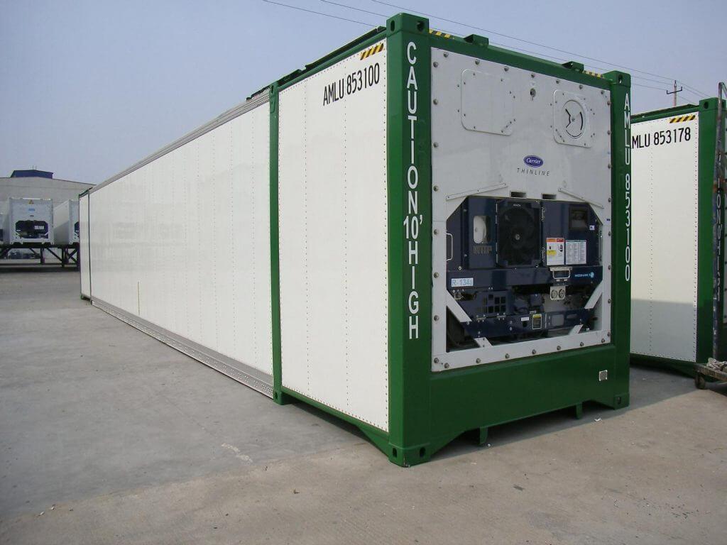 Container lạnh xuất khẩu đi Hàn Quốc