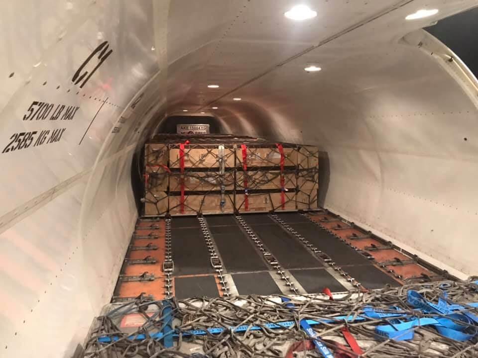 Khoang máy bay chở hàng (Freighter)