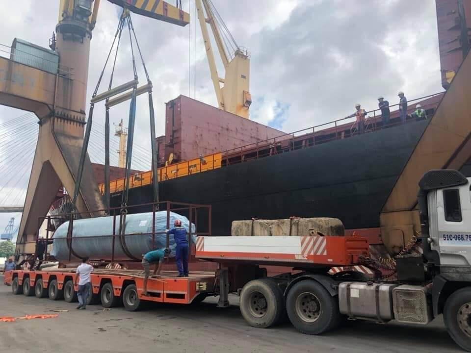 Vận chuyển hàng dự án đi Myanmar