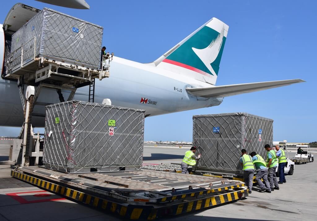 Vận tải hàng không là thế mạnh hàng đầu của MLC logistics