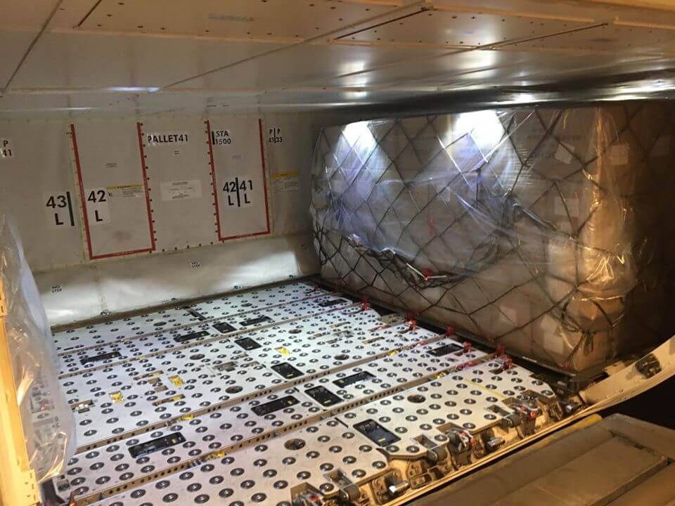 TTL logistics nhận vận chuyển hàng không đi Hongkong