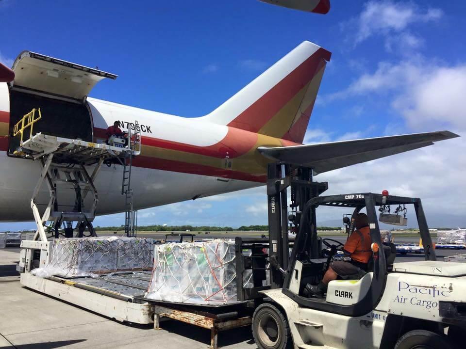 Vận tải hàng không là thế mạnh hàng đầu của TTL logistics