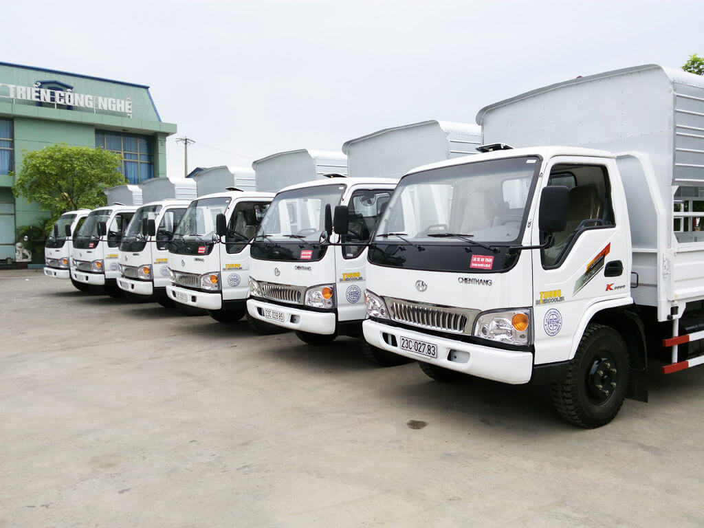 Đội xe tải 1.25 tấn của TTL logistics